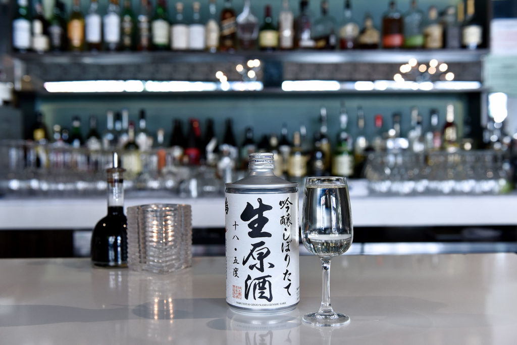 Enjoy Sake at WASABI