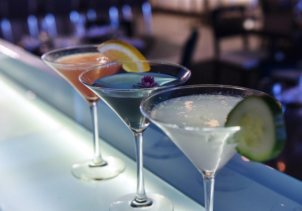 WASABI Martinis and Saki Tinis