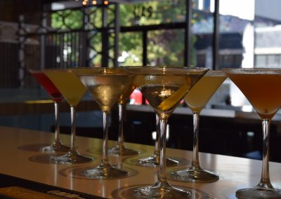 WASABI Flavored Martinis